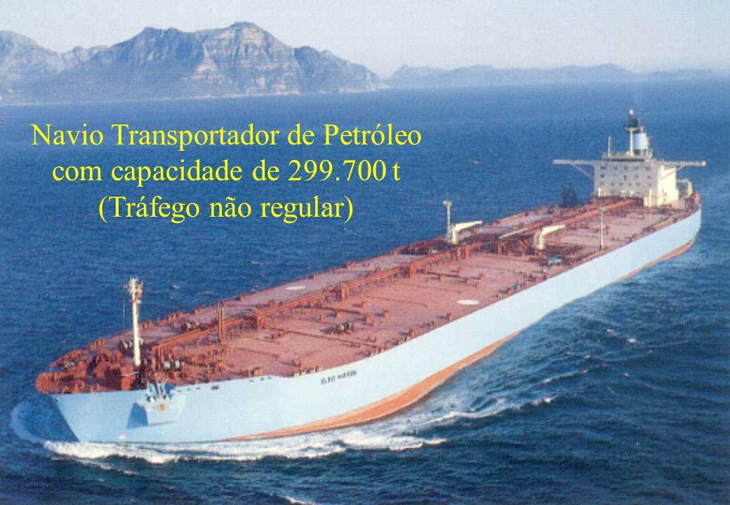 56 Navio Transportador de Petróleo com capacidade de 299.700 t (Tráfego não regular)