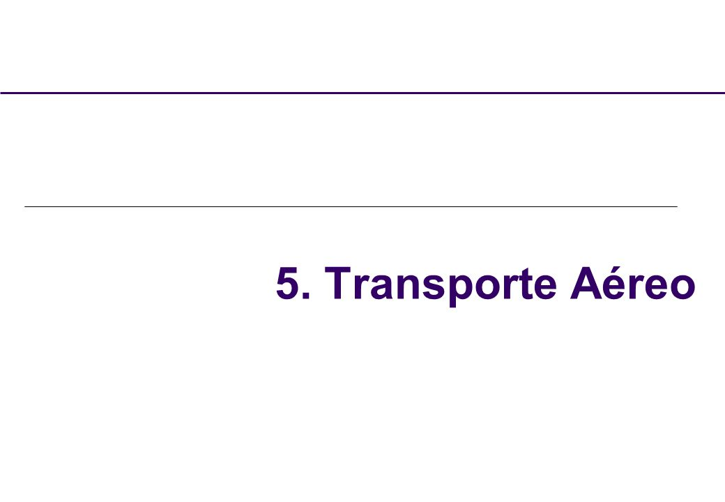 5. Transporte Aéreo