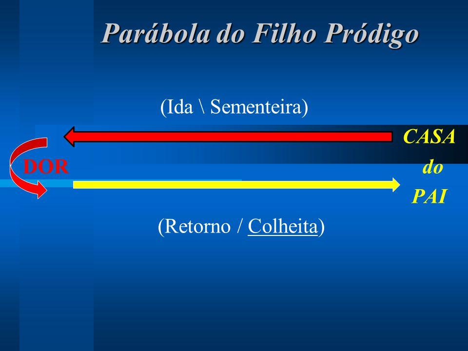 Parábola do Filho Pródigo Parábola do Filho Pródigo (Ida \ Sementeira) CASA DOR do PAI (Retorno / Colheita)