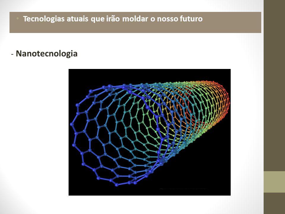 Tecnologias atuais que irão moldar o nosso futuro - Nanotecnologia