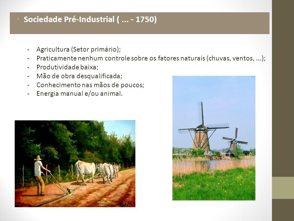 Sociedade Pré-Industrial (...