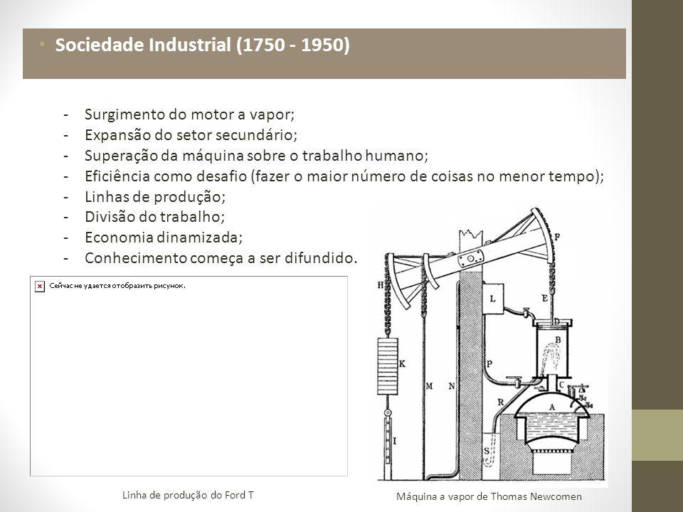 Sociedade Pós-Industrial (1950 -...