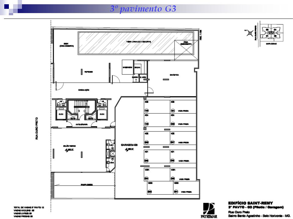 3º pavimento G3