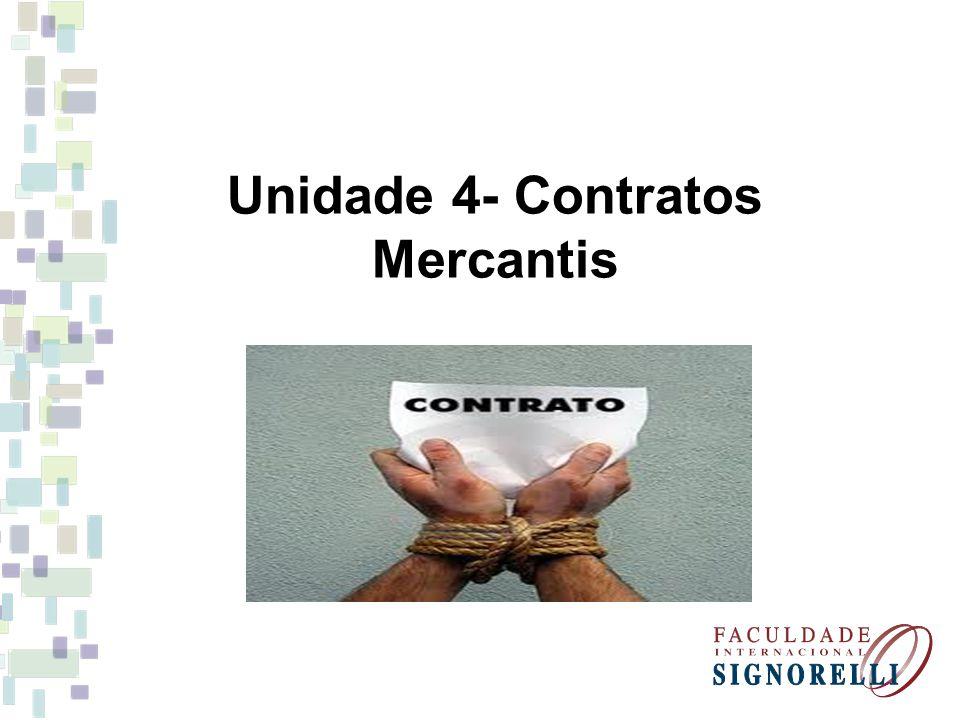 Unidade 4- Contratos Mercantis