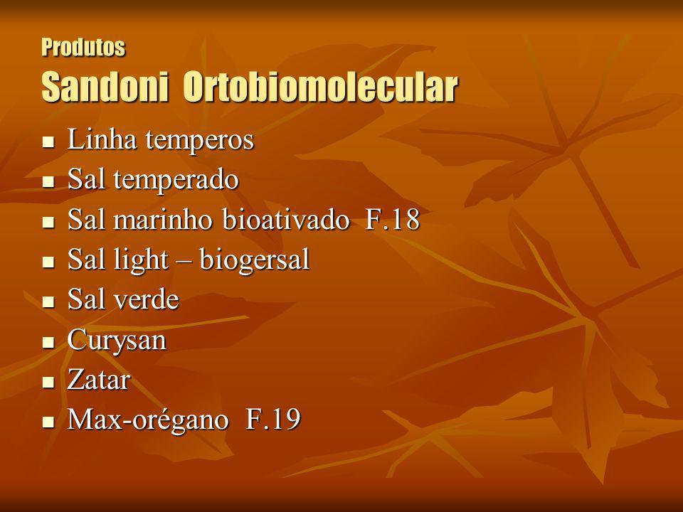 Produtos Sandoni Ortobiomolecular Linha temperos Linha temperos Sal temperado Sal temperado Sal marinho bioativado F.18 Sal marinho bioativado F.18 Sa