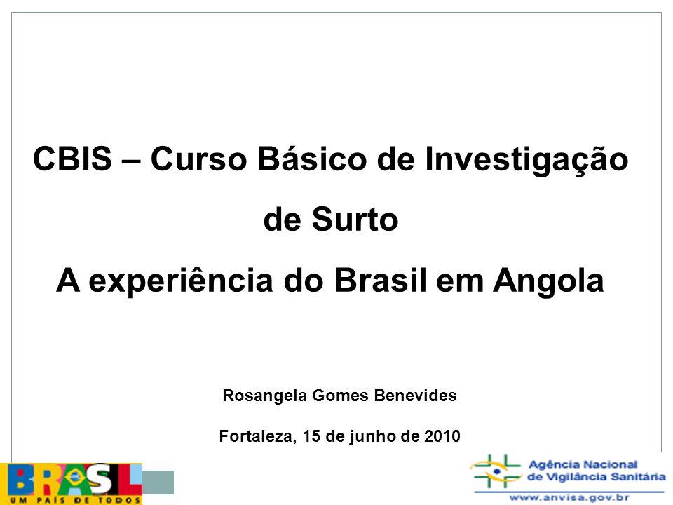 Coleta de amostra clínica (aspectos éticos) Digitação dos formulários de investigação e análise dos dados
