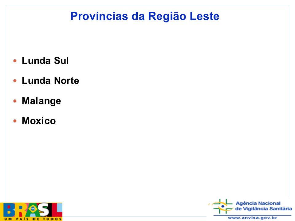 Resultado final da capacitação 6 relatórios estruturados de investigação, contemplando os elementos pessoa, tempo e lugar 6 apresentações das investigação em seminário e encontro da OMS em Luanda