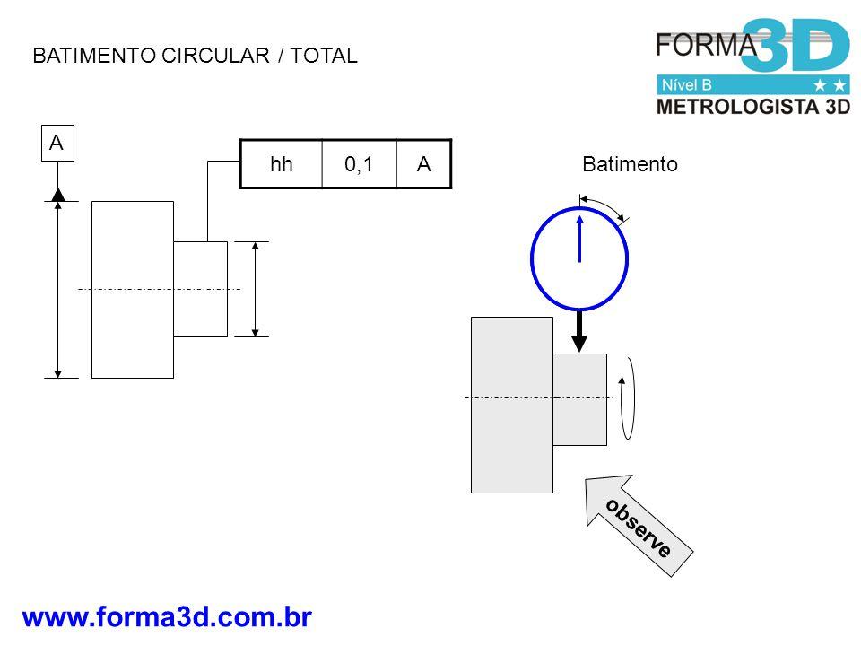 www.forma3d.com.br BATIMENTO CIRCULAR / TOTAL A hh0,1A Batimento observe