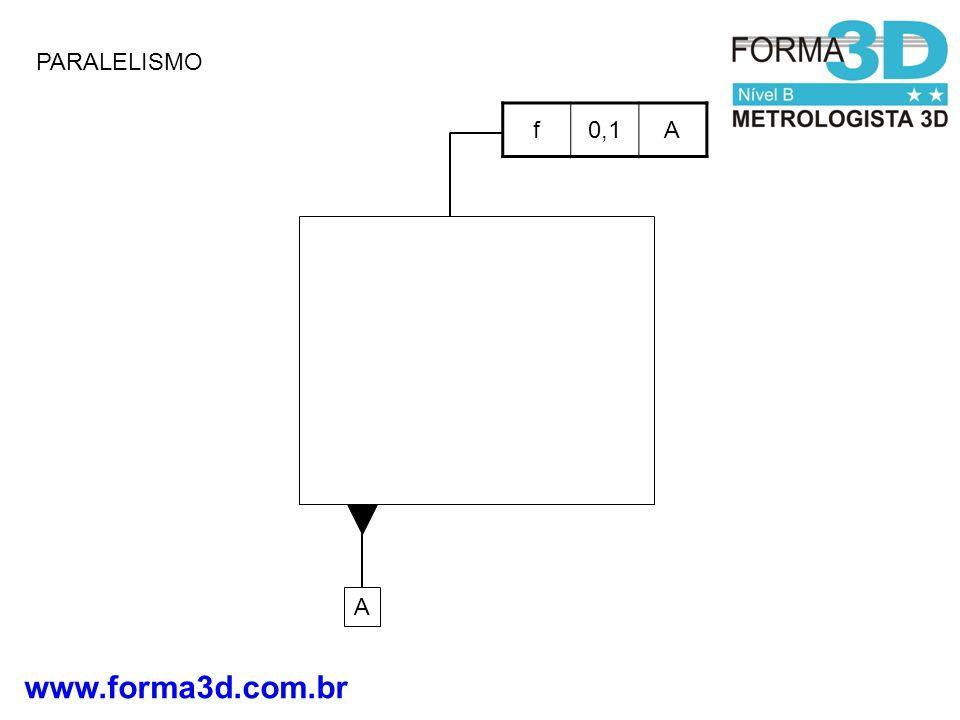 www.forma3d.com.br PARALELISMO A f0,1A