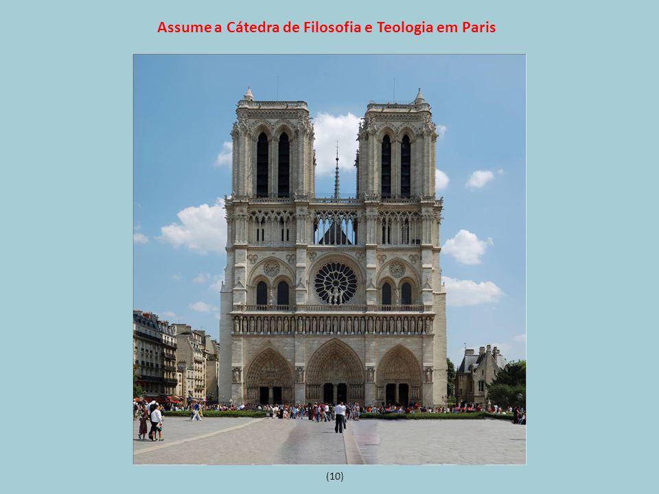 Assume a Cátedra de Filosofia e Teologia em Paris (10)