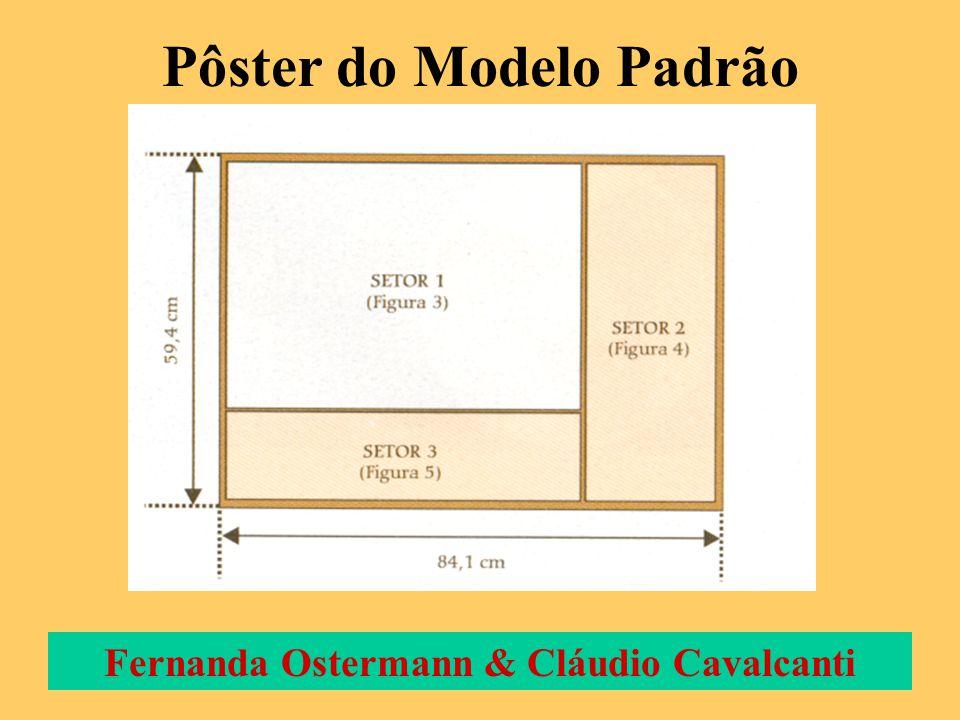 Pôster do Modelo Padrão Fernanda Ostermann & Cláudio Cavalcanti