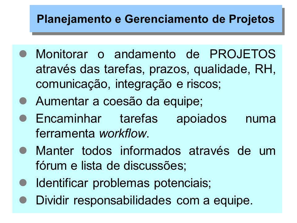 Gerenciamento com o Project Open