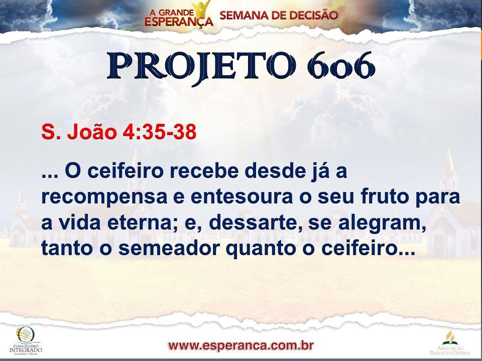 Passos Importantes 606Passos Importantes 606 II.Preparo da Igreja.II.