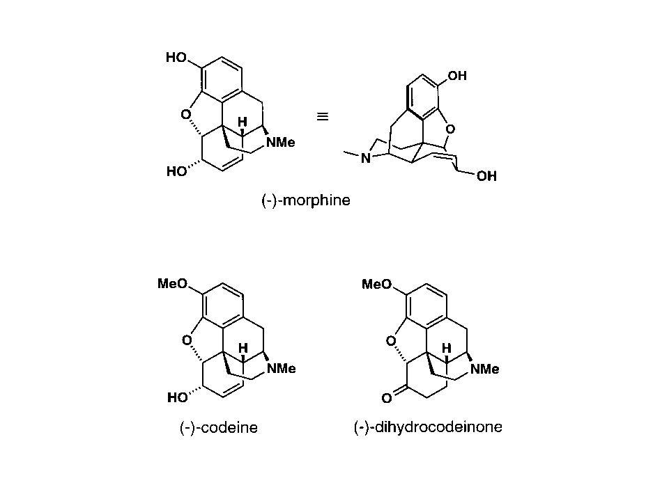 Alterações Estruturais As propriedades antagonistas estão associadas à substituição do radical metil no átomo de hidrogênio por grupos maiores, por exemplo, alil no caso da naloxona.