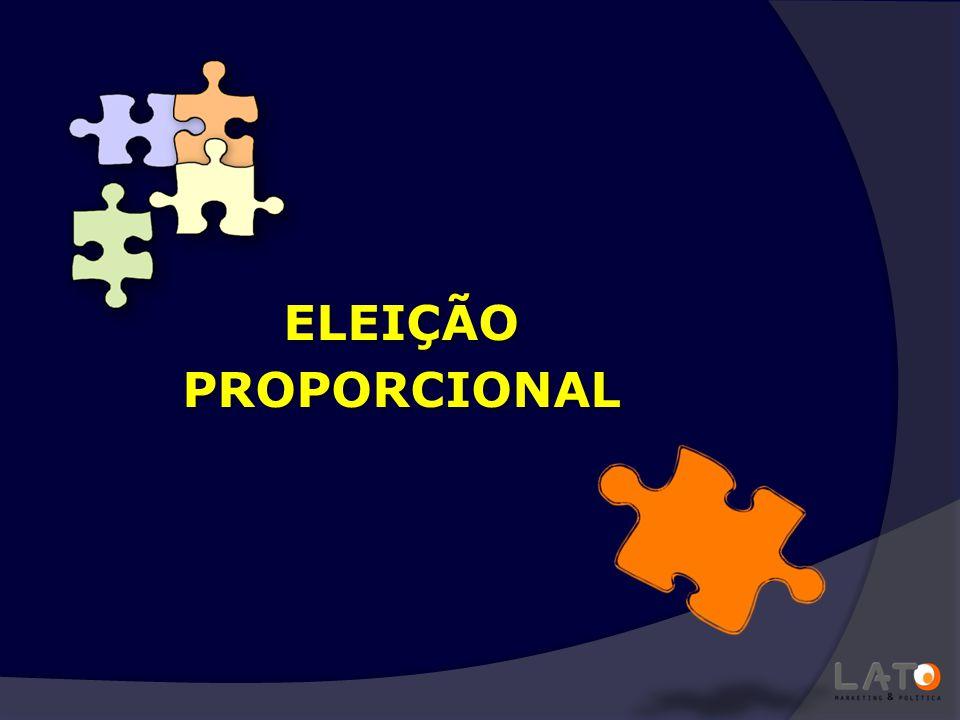 1,5% e 2,5% ELEIÇÃO PROPORCIONAL