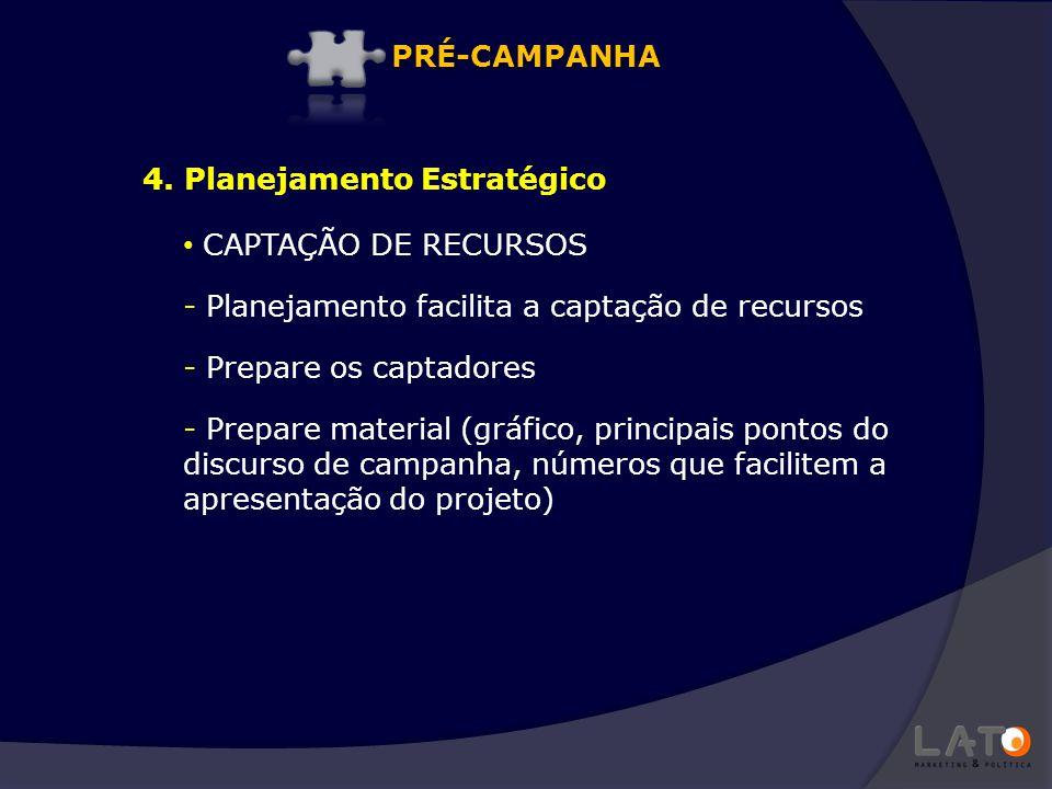 CAPTAÇÃO DE RECURSOS - Planejamento facilita a captação de recursos - Prepare os captadores - Prepare material (gráfico, principais pontos do discurso