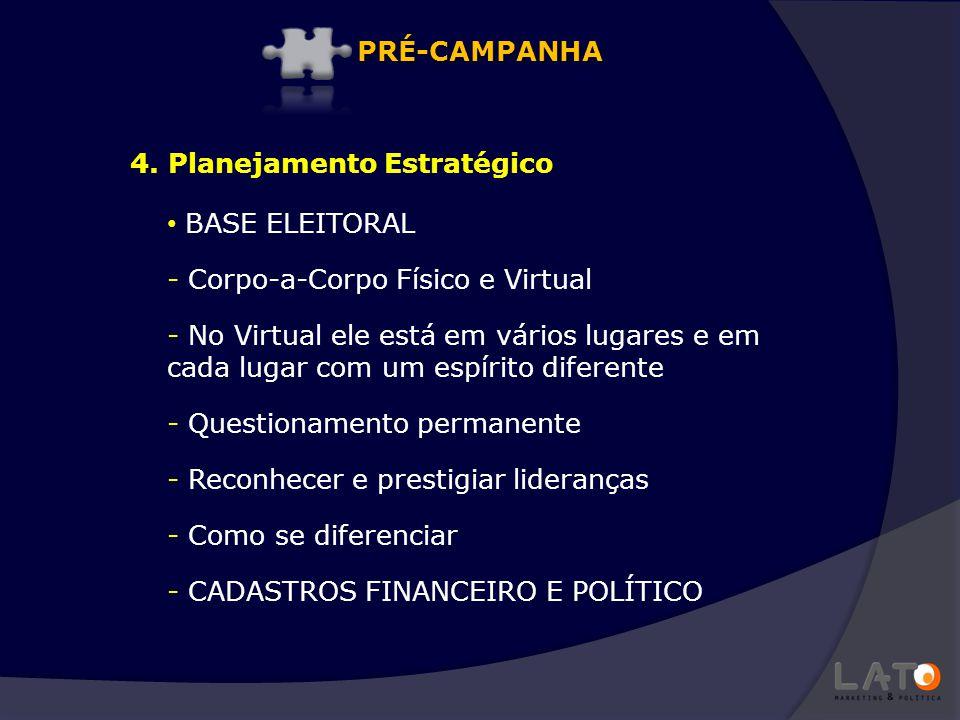 BASE ELEITORAL - Corpo-a-Corpo Físico e Virtual - No Virtual ele está em vários lugares e em cada lugar com um espírito diferente - Questionamento per
