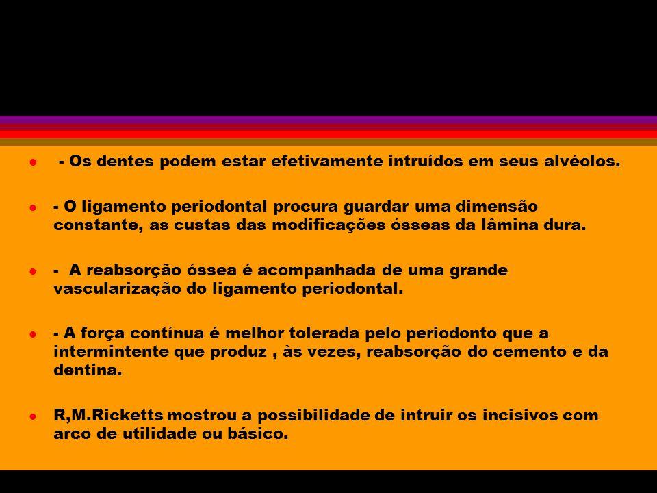 Movimento de Intrusão l O Movimento de intrusão, como definiu E.