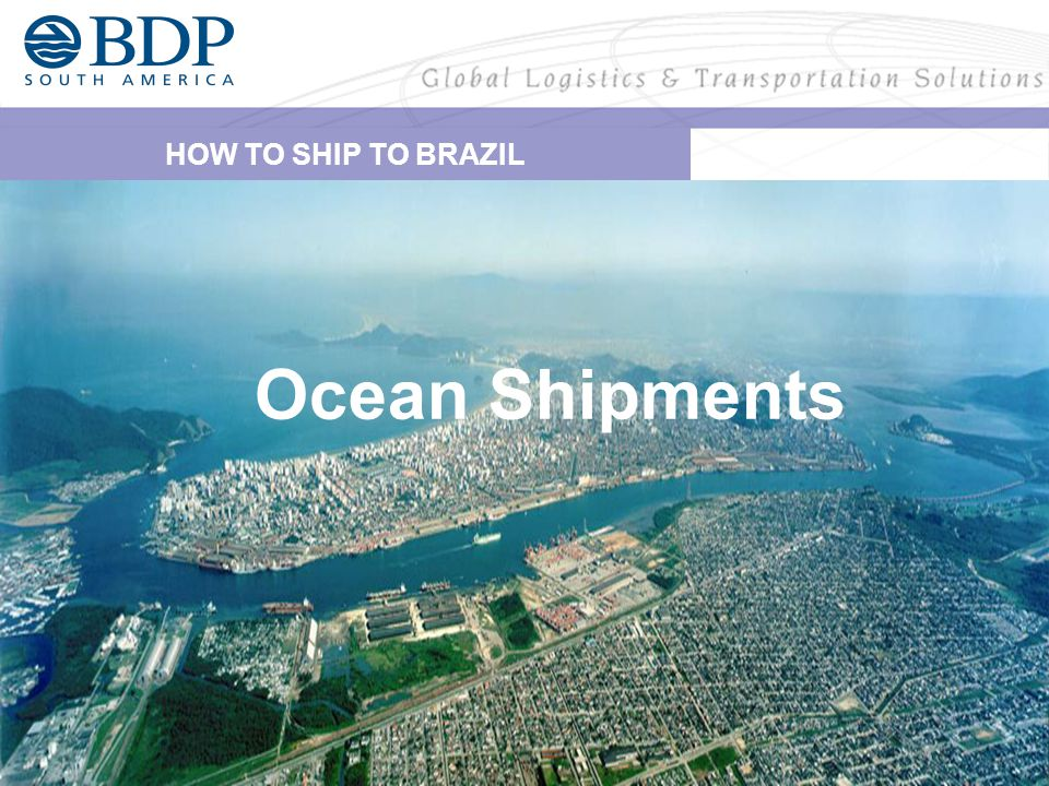 Authorities in Brazil require for all shipments (No matter if it is an FCL or LCL) a complete set of documents as follows: BDP SOUTH AMERICA - BRAZIL OCEAN OPERATION INSTRUCTIONS NVOCC documentation – General Rules - 2 Originals Master Bill of Lading + 02 Non Negotiable Copies - House Bill of Lading _ 04 Non Negotiable copies at least A very important point to stress is that all information stated on above paperwork mentioned must match.