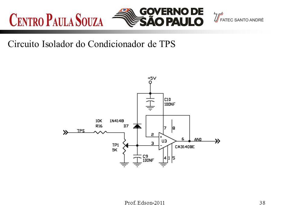 Prof. Edson-201138 Circuito Isolador do Condicionador de TPS