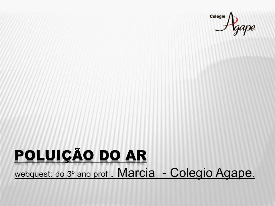 webquest: do 3º ano prof. Marcia - Colegio Agape.
