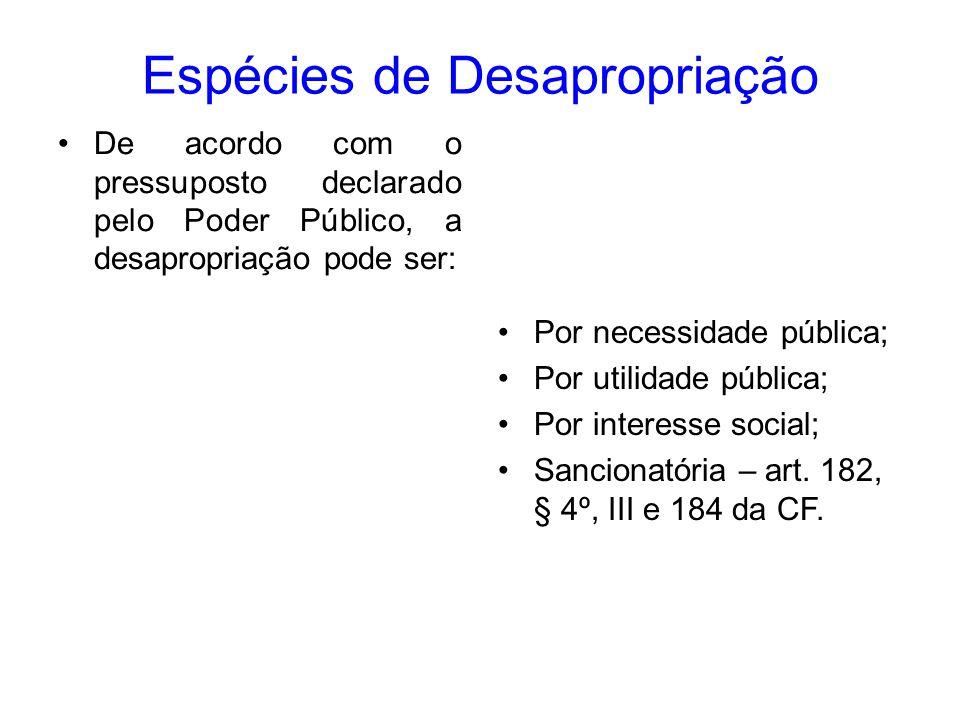 Ocupação Temporária b) De imóveis públicos ou privados para exploração, pela União (direta ou indiretamente), de jazidas de energia hidráulica e recursos minerais (art.