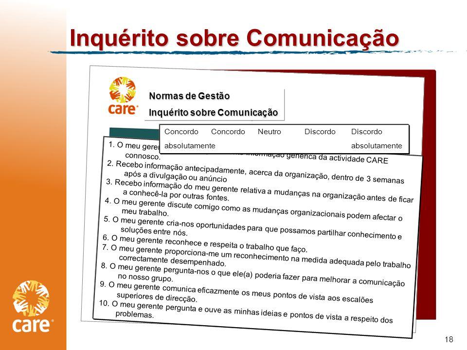 Inquérito sobre Comunicação 18 1.
