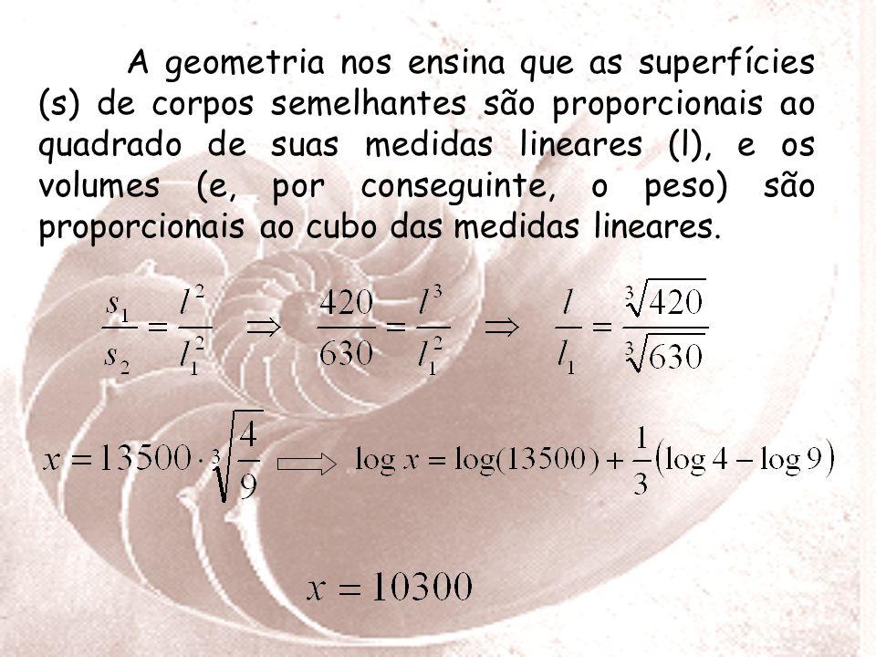 Para resolvermos este problema, devemos utilizar além da álgebra a geometria. De acordo com as condições do problema, as calorias que procuramos (x) s