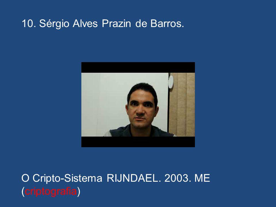 09. Paulo César de Souza Cavalcante. pcscavalcante@gmail.com O Protocolo SET Para Segurança de Compras Eletrônicas. 2003. ME (criptografia)