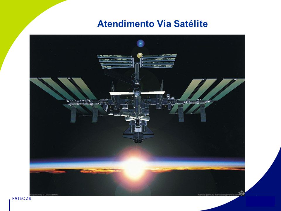 FATEC-ZS 6 Atendimento Via Satélite