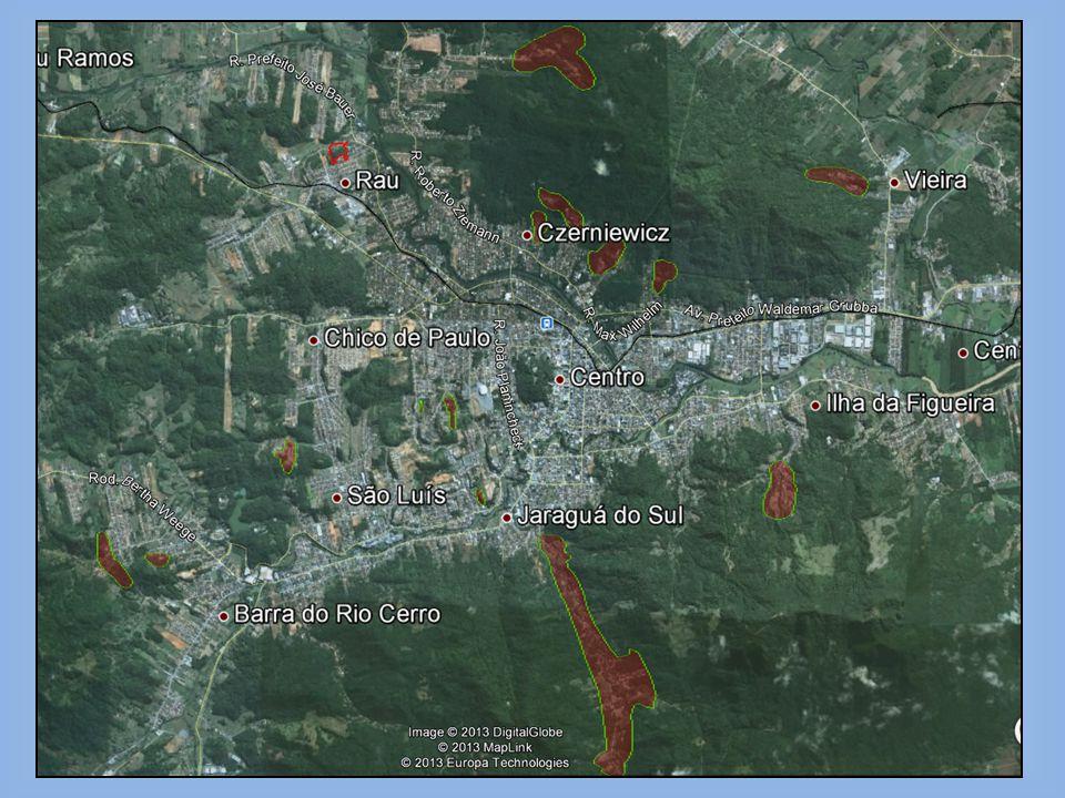 CONCLUSÕES: -Jaraguá é uma cidade extremamente frágil geotecnicamente; -Apresenta uma Defesa Civil bem estruturada e atuante; -Apresenta uma quantidade de estudos razoável mas que não abrange todas as áreas de risco; -Necessita de estudos e mapas complementares de diversas regiões; -Necessita dos dados para readequação do Planejamento Estratégico e Urbano