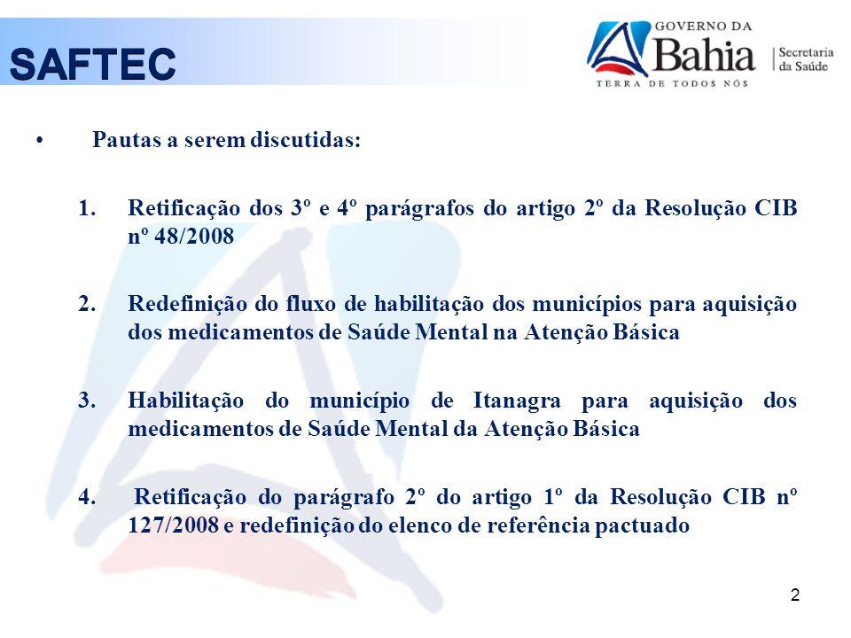 1. Resolução CIB nº 48/2008 3