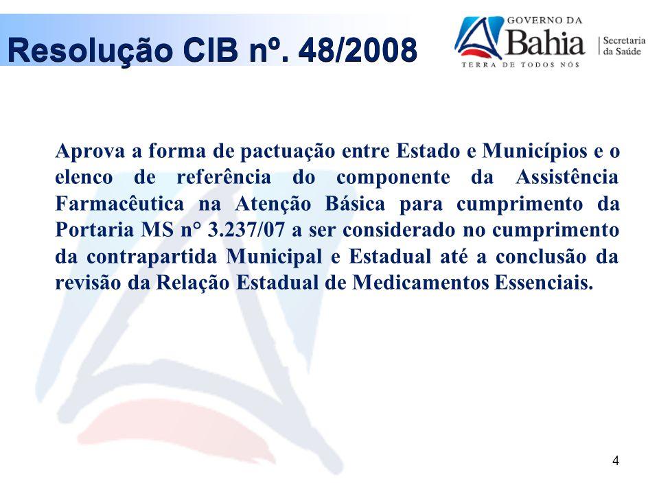 15 Resolução CIB nº.