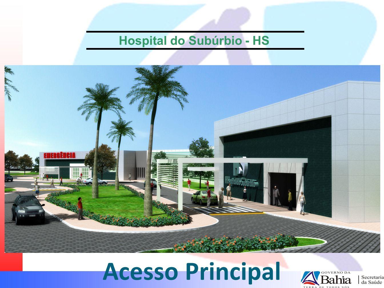 Hospital do Subúrbio - HS Acesso Principal