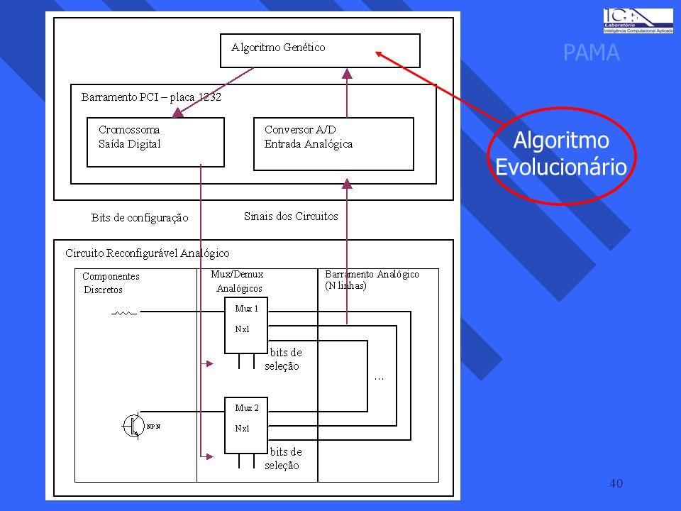 40 PAMA Algoritmo Evolucionário