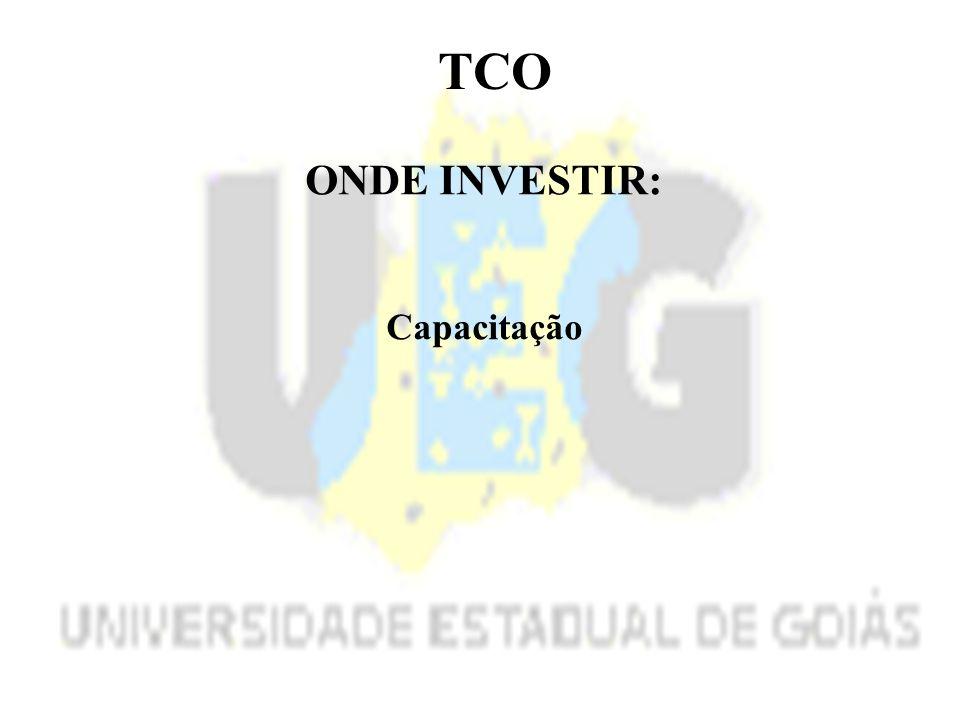 TCO ONDE INVESTIR: Capacitação