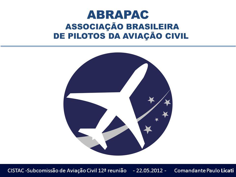 ABRAPAC Missão Proporcionar apoio aos associados e promover a valorização dos pilotos de aeronaves sempre buscando respaldo técnico e científico para a defesa das premissas fundamentais ao desempenho da profissão.
