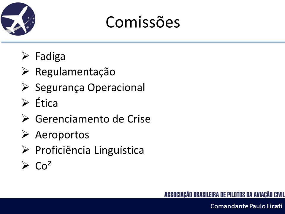 Comandante Paulo Licati Dificuldades  Infraestrutura aeroportuária  Acesso as dependências aeroportuárias  Tráfego aéreo