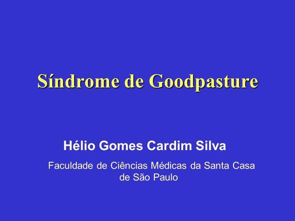 Síndrome de Goodpasture Hélio Gomes Cardim Silva Faculdade de Ciências Médicas da Santa Casa de São Paulo