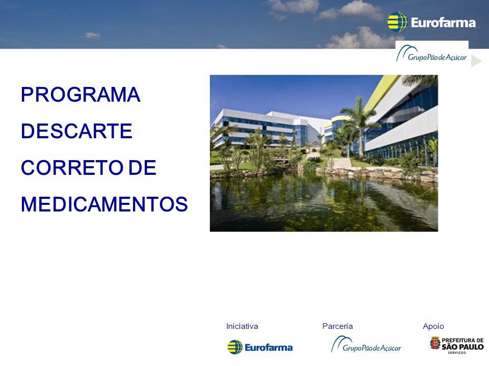 IniciativaParceriaApoio PROGRAMA DESCARTE CORRETO DE MEDICAMENTOS