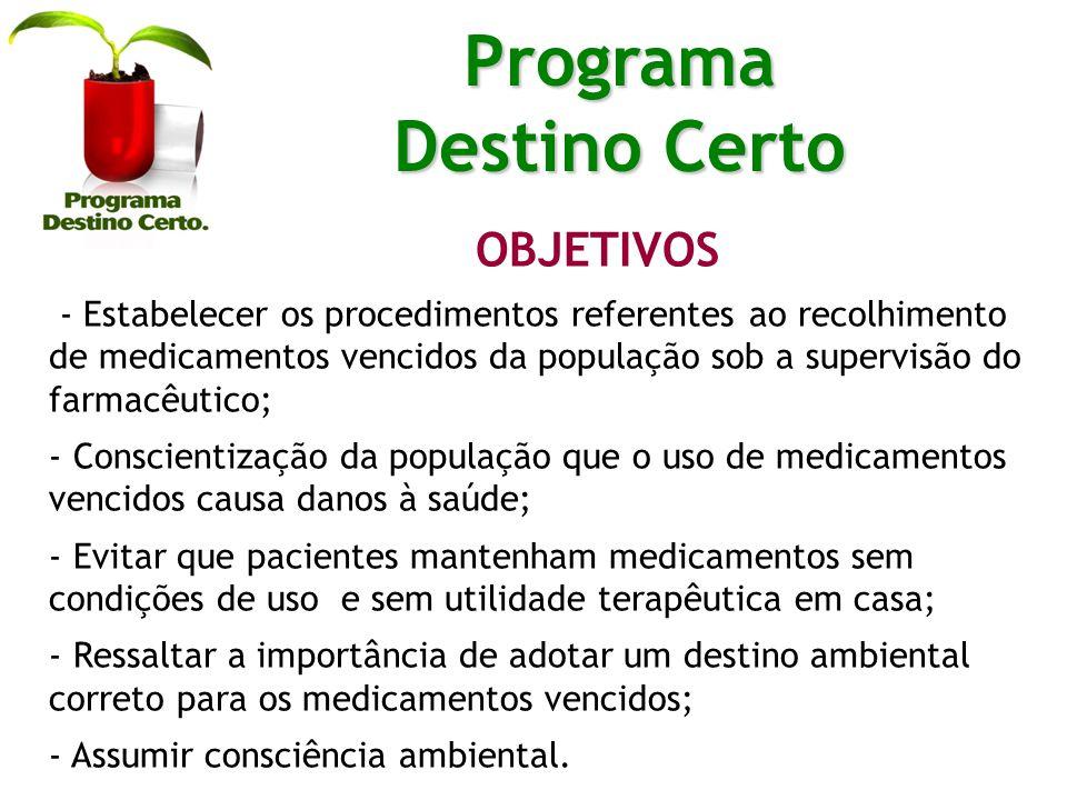 PARCERIA Na divulgação do programa e recolhimento dos medicamentos vencidos da população.