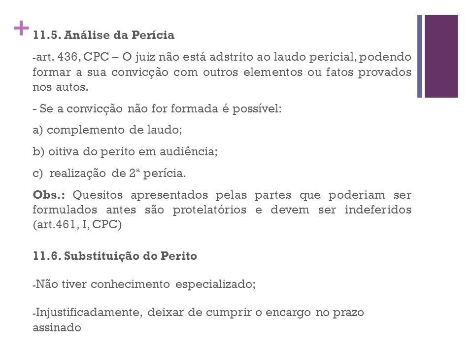 + 11.5.Análise da Perícia - art.