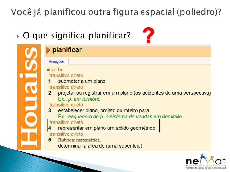  O que significa planificar?