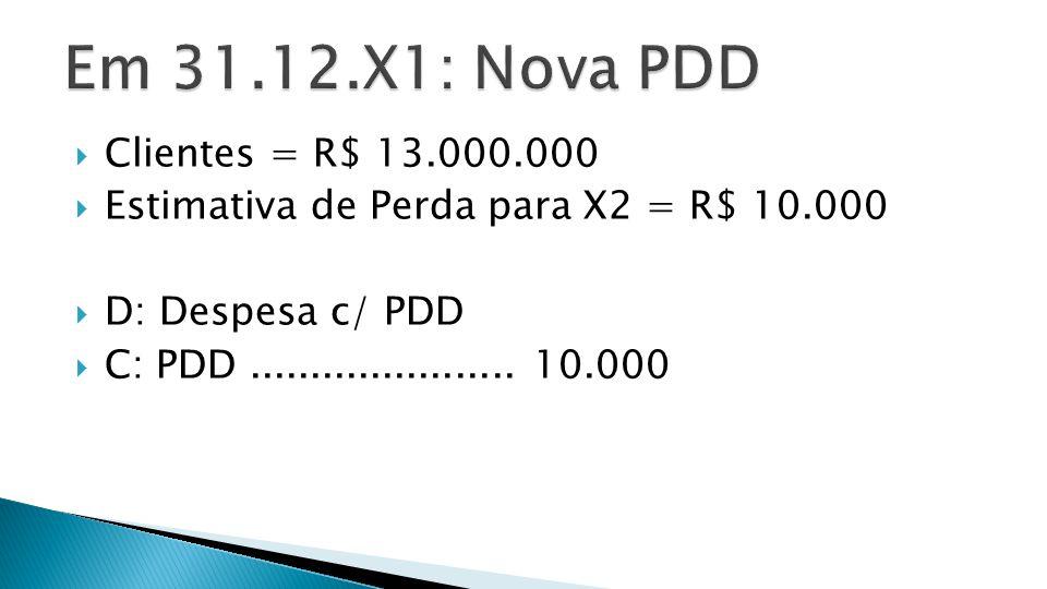  1) VENDAS RECEBIDAS EM X2.
