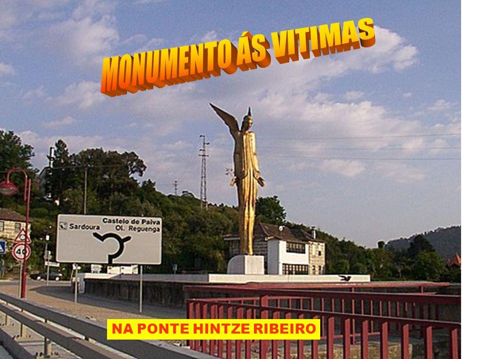 (A VERMELHA SUBSTITUIIU A QUE CAIU) PONTE HINTZE RIBEIRO A SEGUIR PONTE DUARTE PACHECO E LÁ AO FUNDO PONTE NA FOZ DO TAMEGA, O DOURO VOLTA Á DIREITA ANTES……