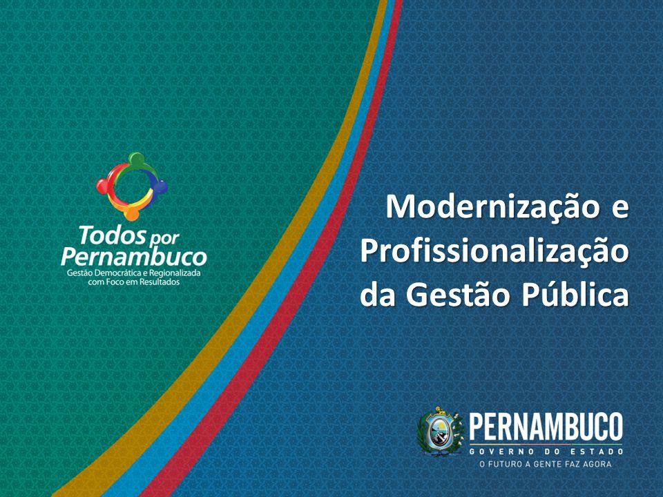 Modernização e Profissionalização da Gestão Pública