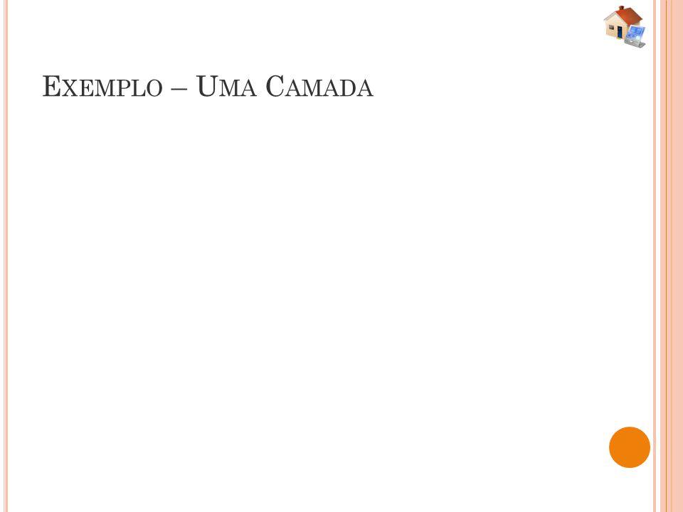 E XEMPLO – U MA C AMADA
