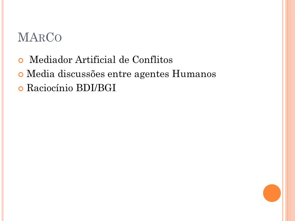 A LGORITMO DO A GENTE BDI Programa Agente BDI t := 0 //contador de tempo Agente-BDI enquanto Agente-BDI vivo, faça TellPercepções-Sentença Tell(BC, Pe