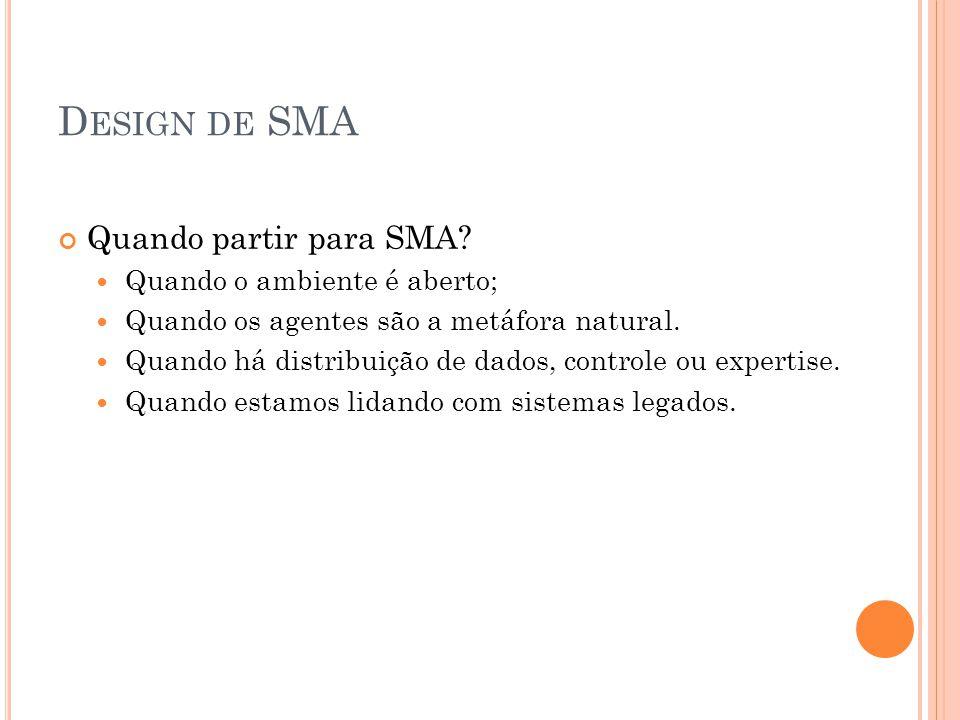 A SSIM... Quando Encarar os SMA?