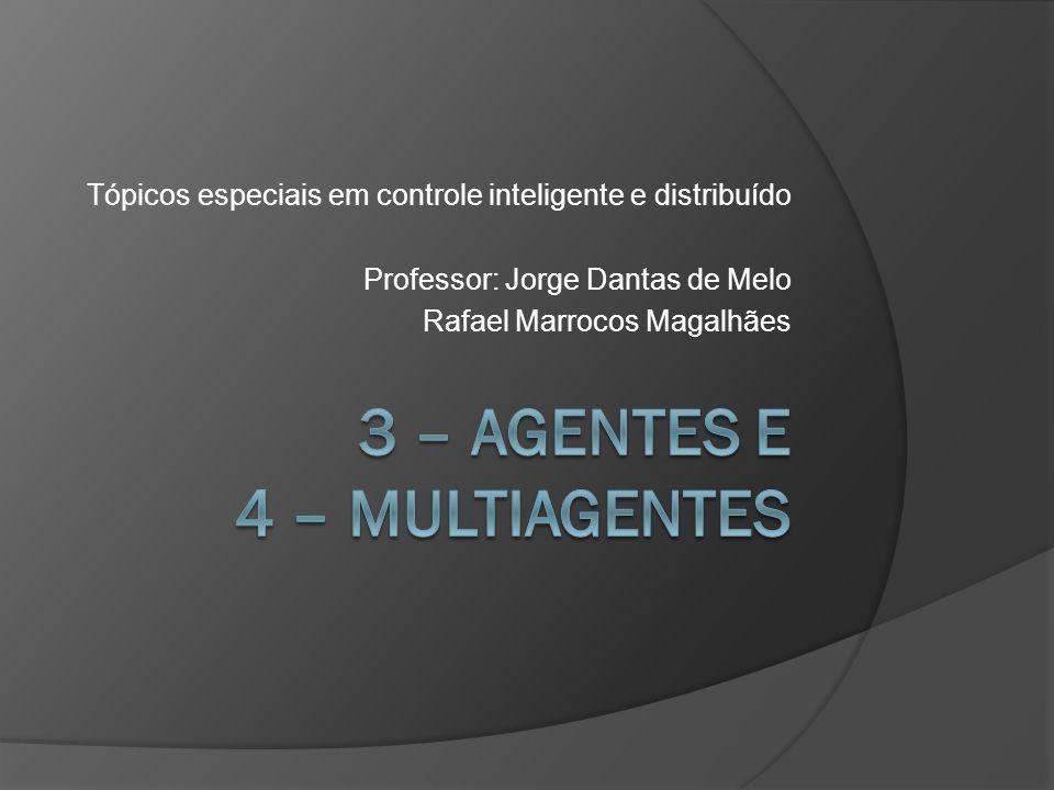 Tópicos especiais em controle inteligente e distribuído Professor: Jorge Dantas de Melo Rafael Marrocos Magalhães